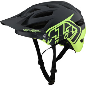 Troy Lee Designs A1 MIPS Helm, classic grey/green